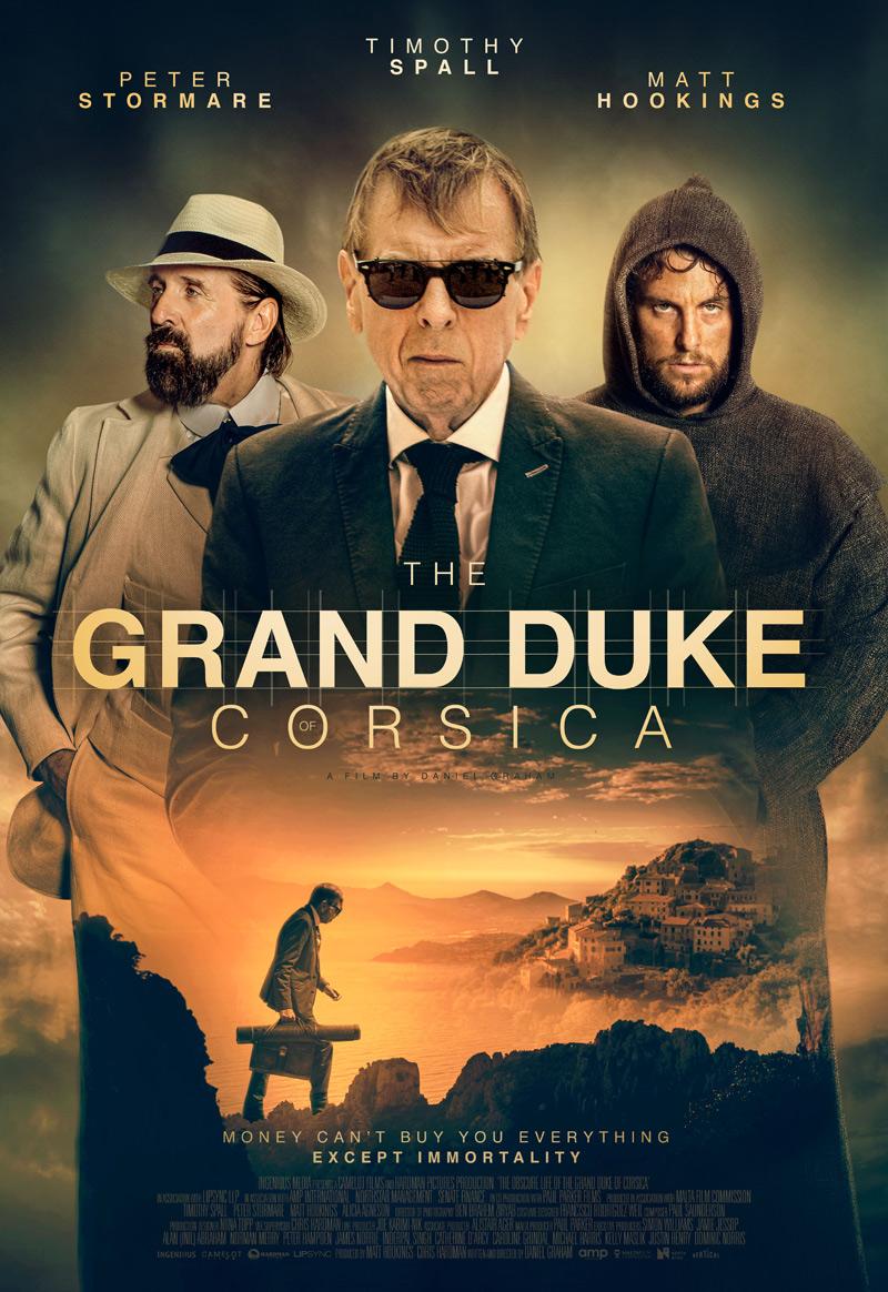 The Grand Duke of Corsica Poster