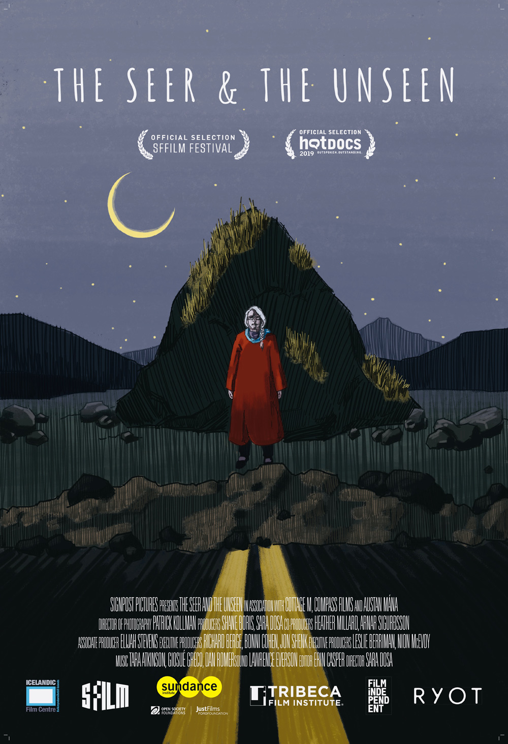 The Seer and the Invisible Poster