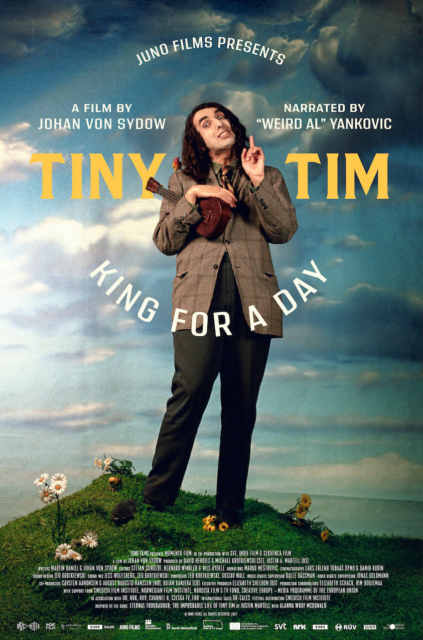 Tiny Tim: King For A Day Poster