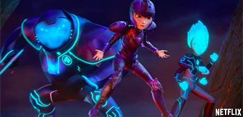 Trailer for Guillermo del Toro's 'Trollhunters: Rise of the Titans' Movie