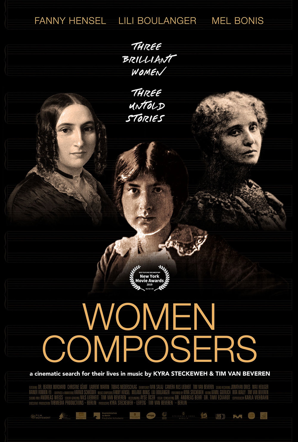 Women Composers Poster