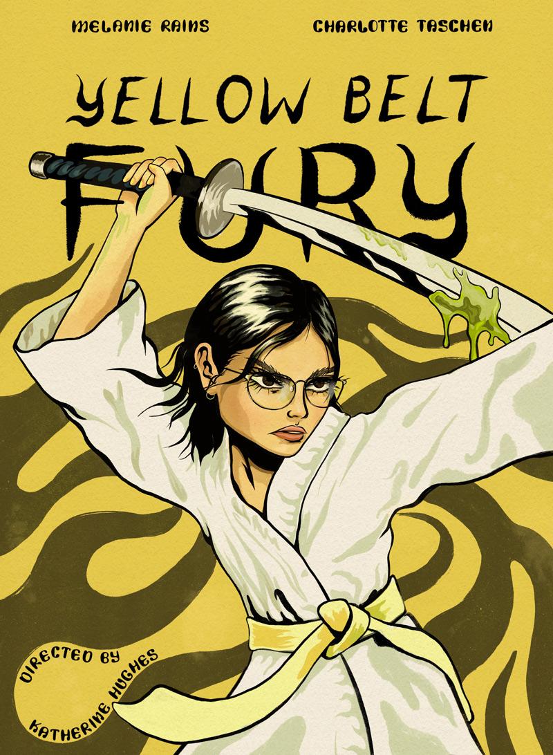 Yellow Belt Fury Poster