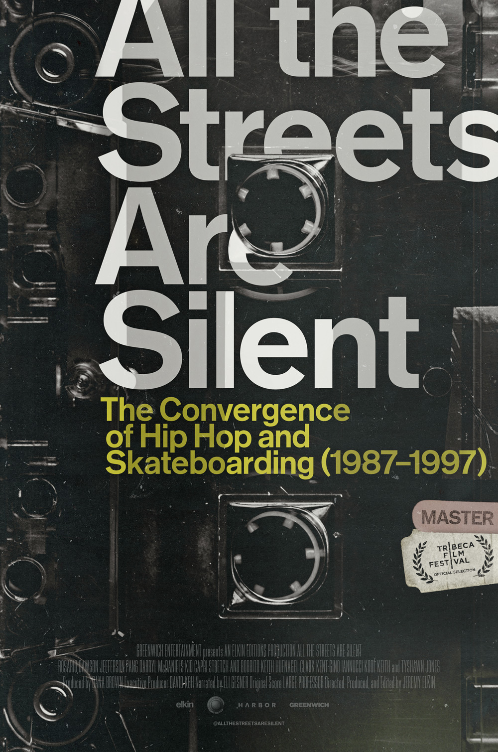 All the Streets Are Silent Poster