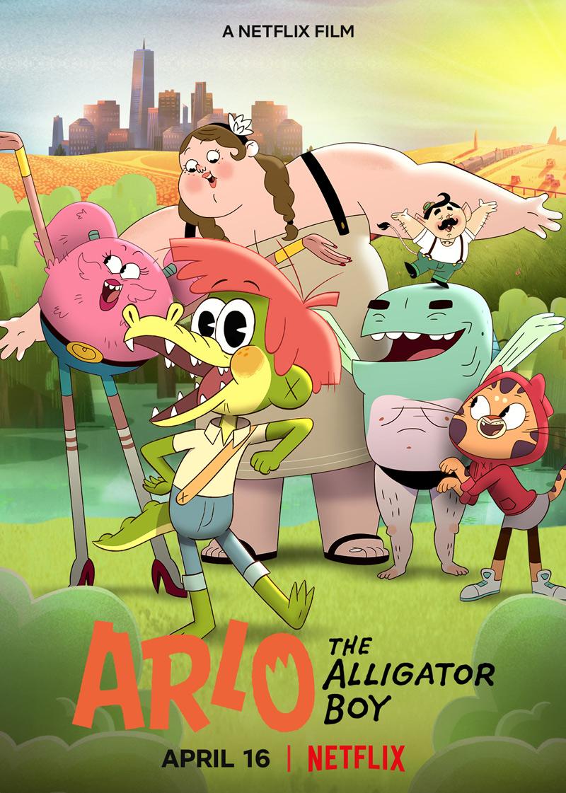 Arlo the Alligator Boy Poster