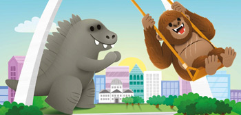Godzilla vs. Kong Kids Book