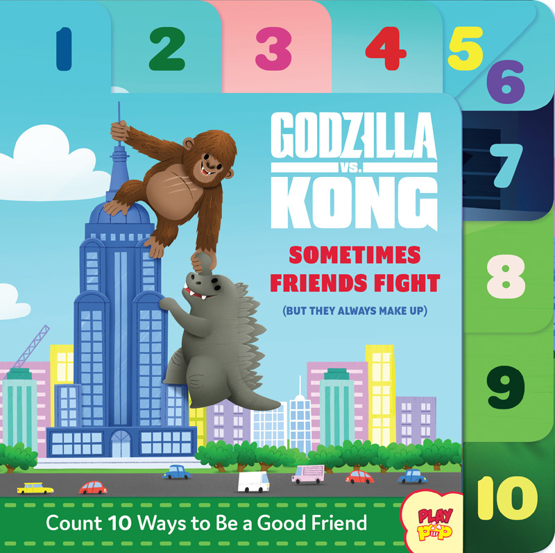 Godzilla vs. Kong: Sometimes Friends Fight Book