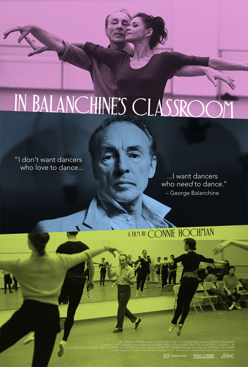 In Balanchine's Classroom Poster