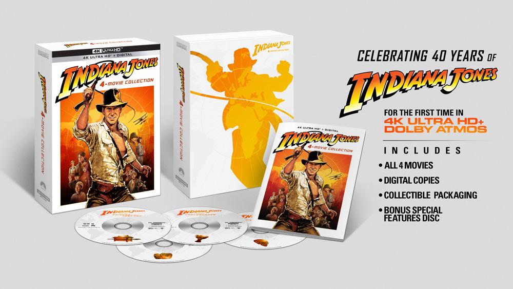 Indiana Jones 4-Movie Collection 4K Ultra-HD