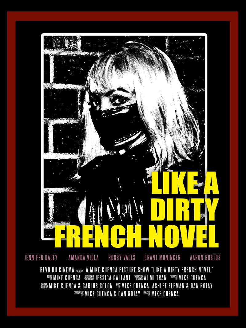 Like a Dirty French Novel Poster