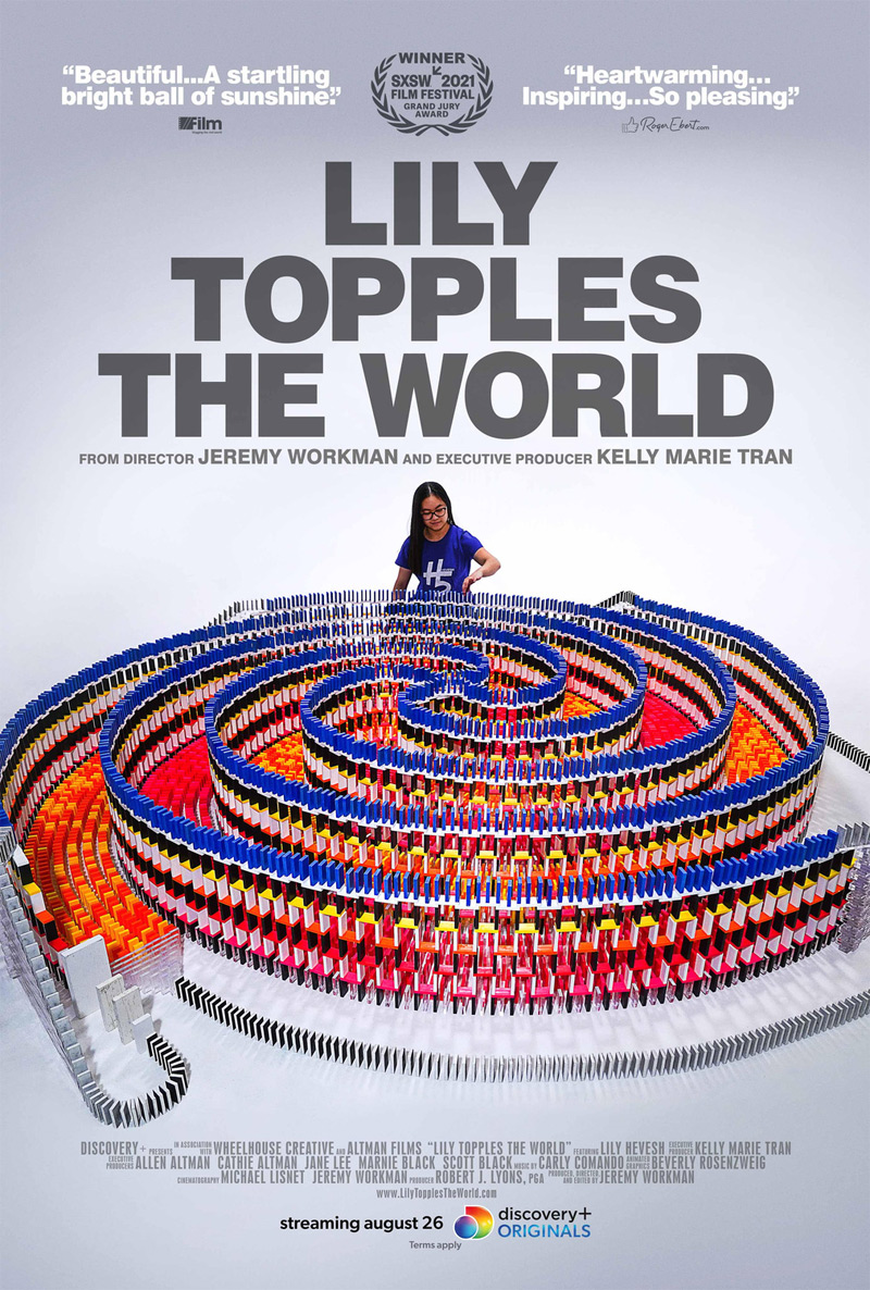 Lily Topples the World Poster