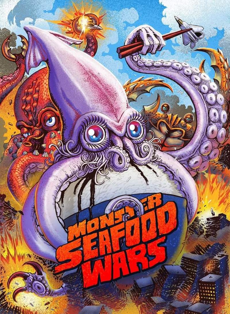 Poster Monster Seafood Wars