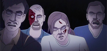 Red Band Trailer for Animated Version of 'Night of the Living Dead'