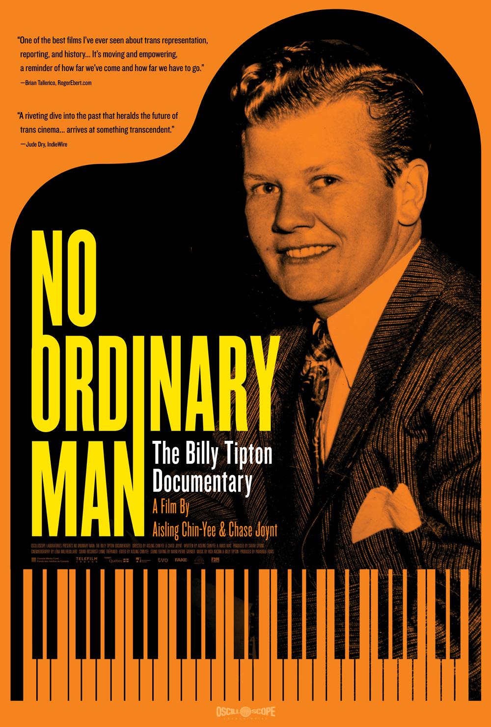 No Ordinary Man Doc Poster
