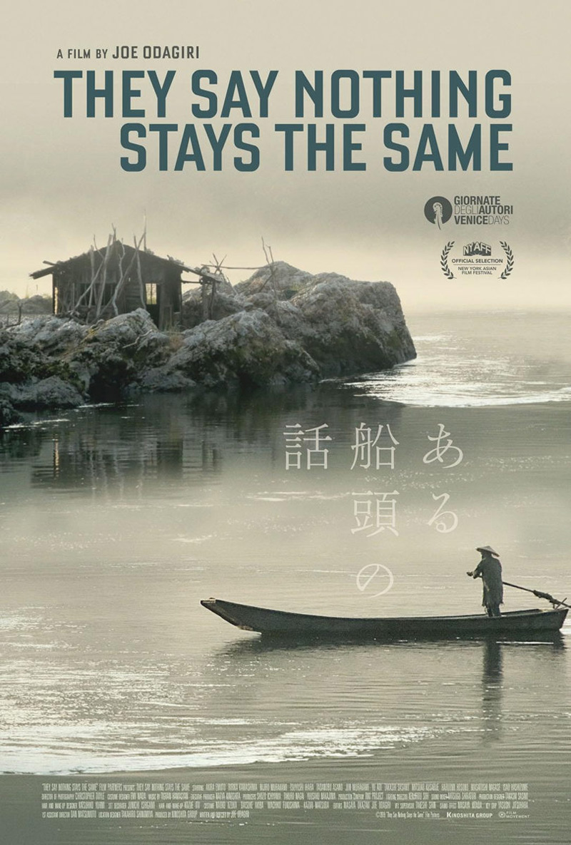 They say nothing stays the same Poster