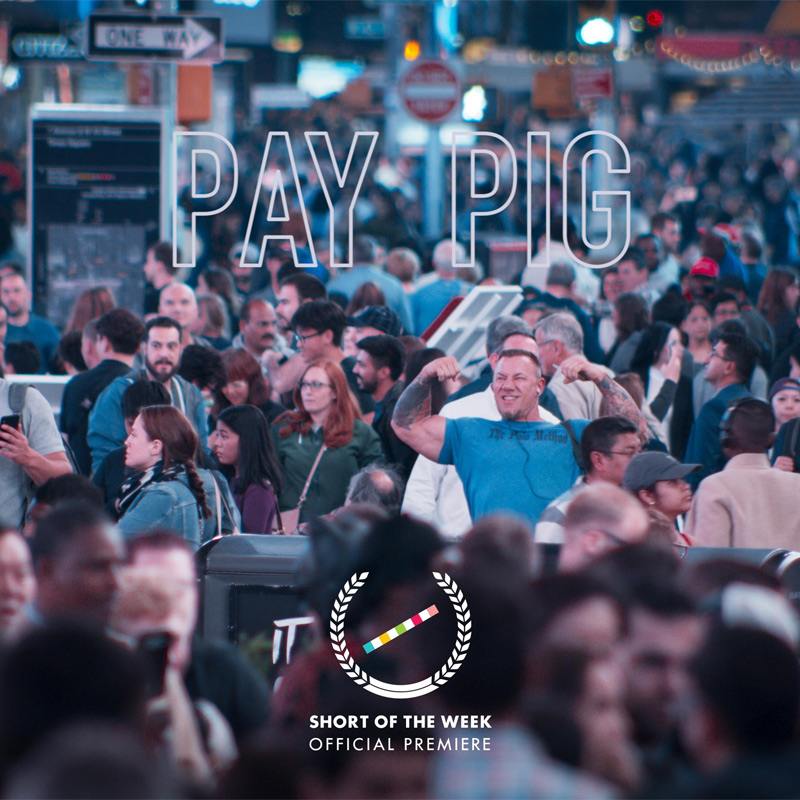 Pay Pig Short Film Poster