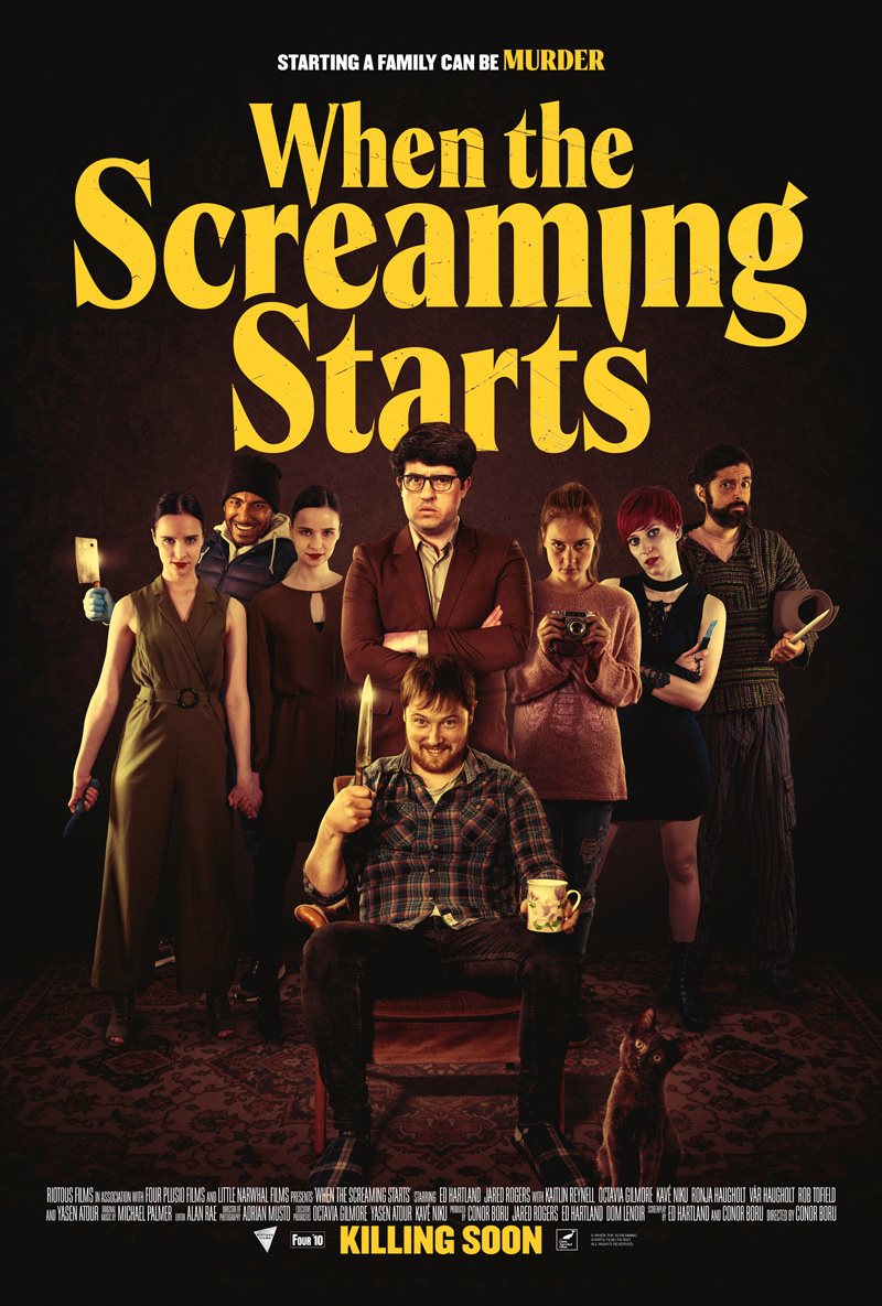 When the Screaming Starts Poster