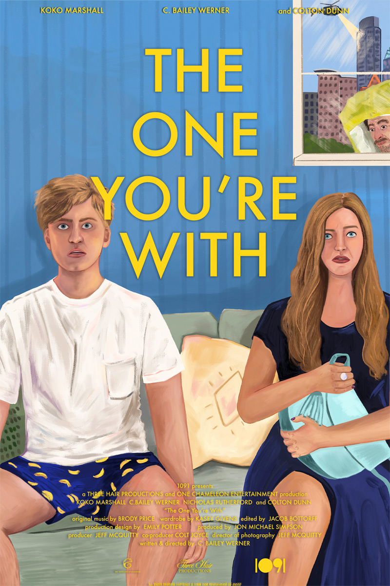 The One You're With Poster
