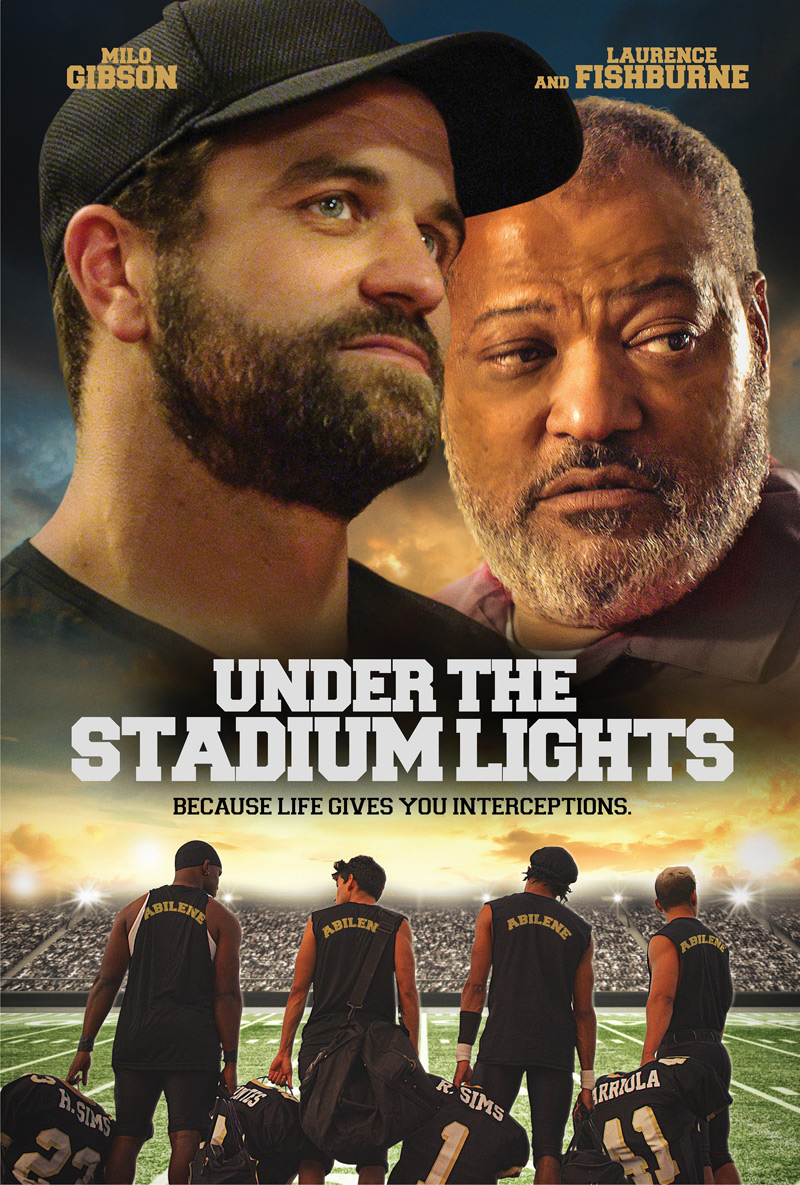 Under the Stadium Lights Poster
