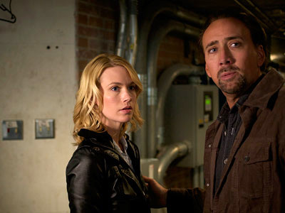 Nicolas Cage & January Jones in The Hungry Rabbit Jumps