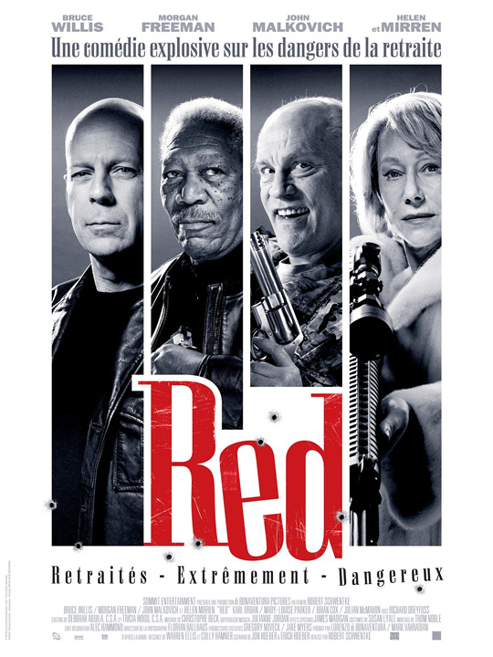 Warren Ellis' RED Poster