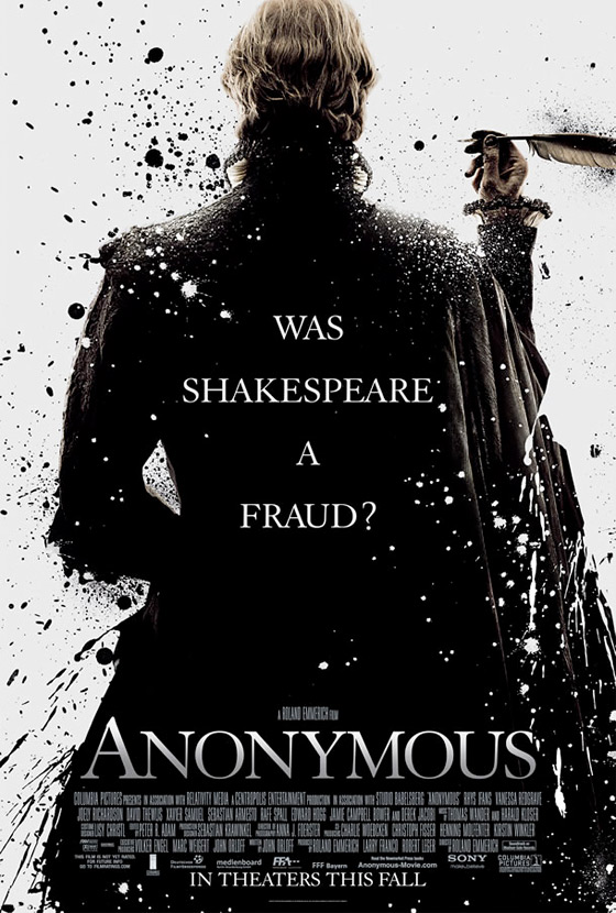 Roland Emmerich's Anonymous Poster