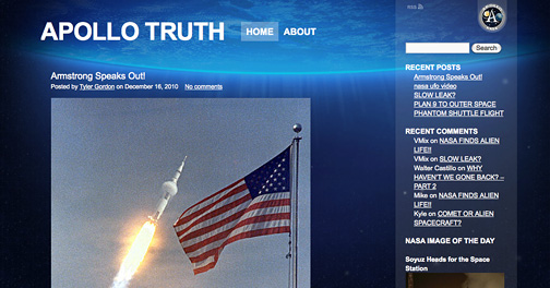 Apollo Truth Viral Website