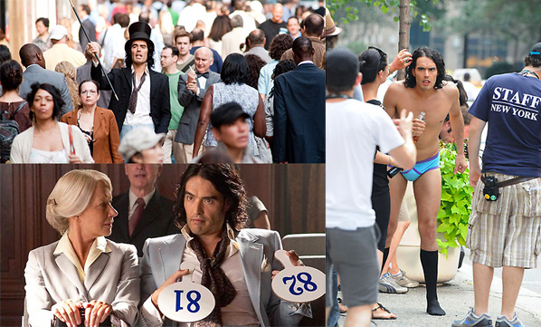 Russell Brand in Arthur Photos