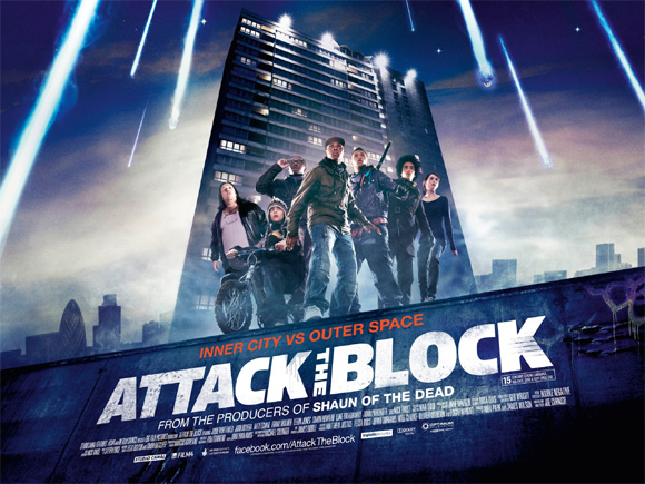 Attack the Block Quad Poster