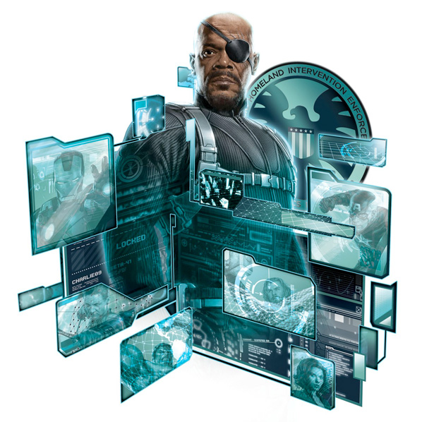 The Avengers Concept Art - Nick Fury