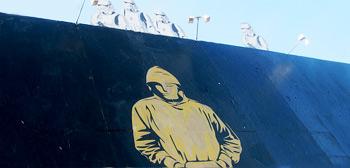 Banksy's Oscar Street Art