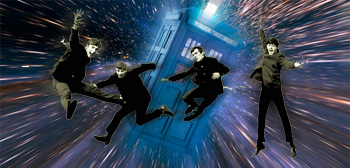 Beatles / Doctor Who time machine