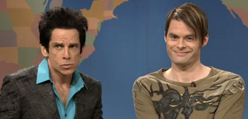 Ben Stiller as Zoolander on SNL