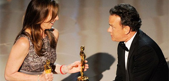 Kathryn Bigelow & Tom Hanks Oscars
