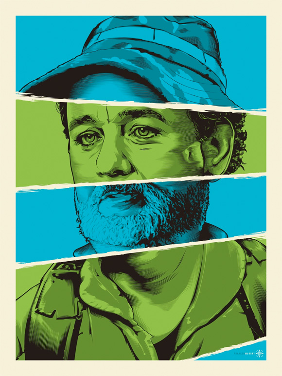 Bill Murray Tribute Art 4