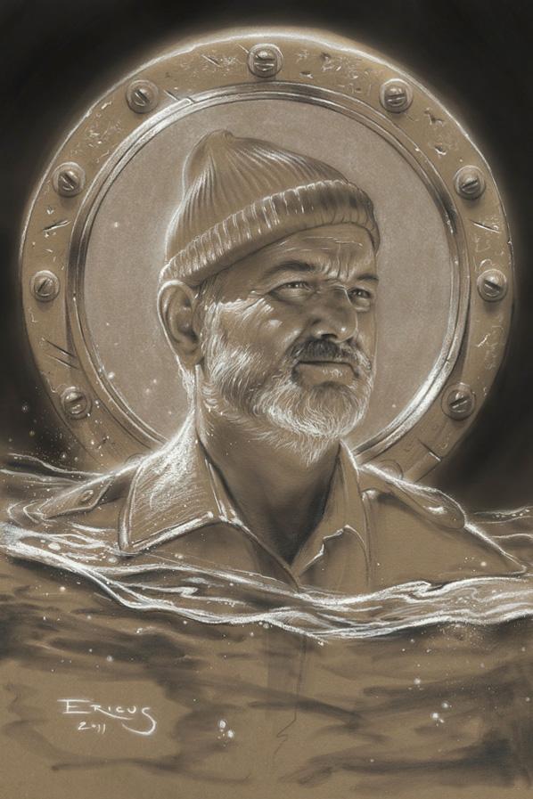 Bill Murray Tribute Art