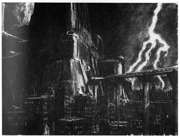 Blade Runner Concept Art - Los Angeles 1