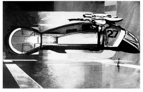 Blade Runner Concept Art - Vehicle