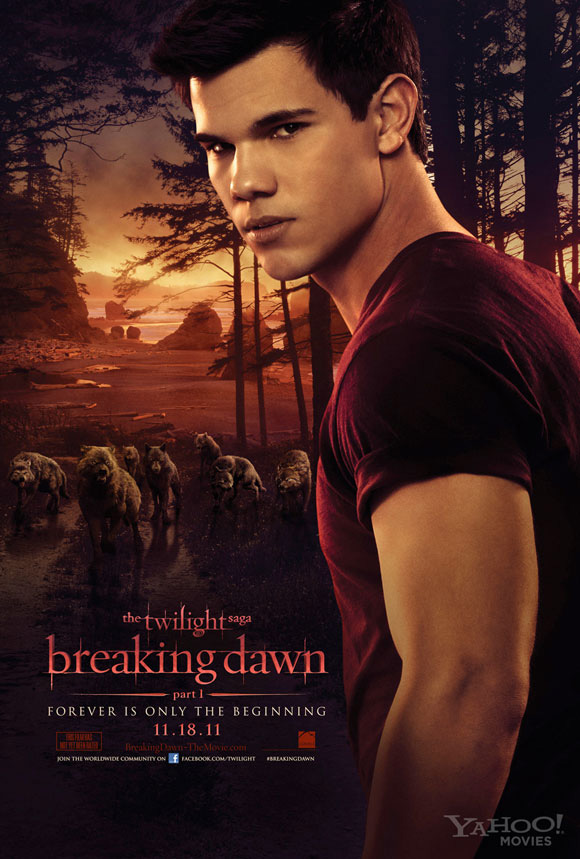Breaking Dawn: Part I - Jacob Poster