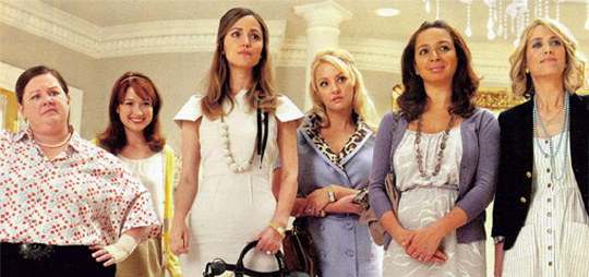 Bridesmaids First Look Photo