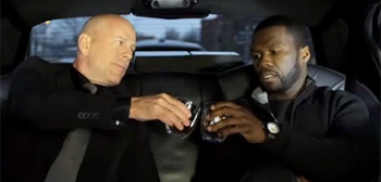 Bruce Willis and 50 Cent