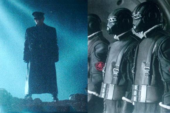 Captain America - Red Skull Photos