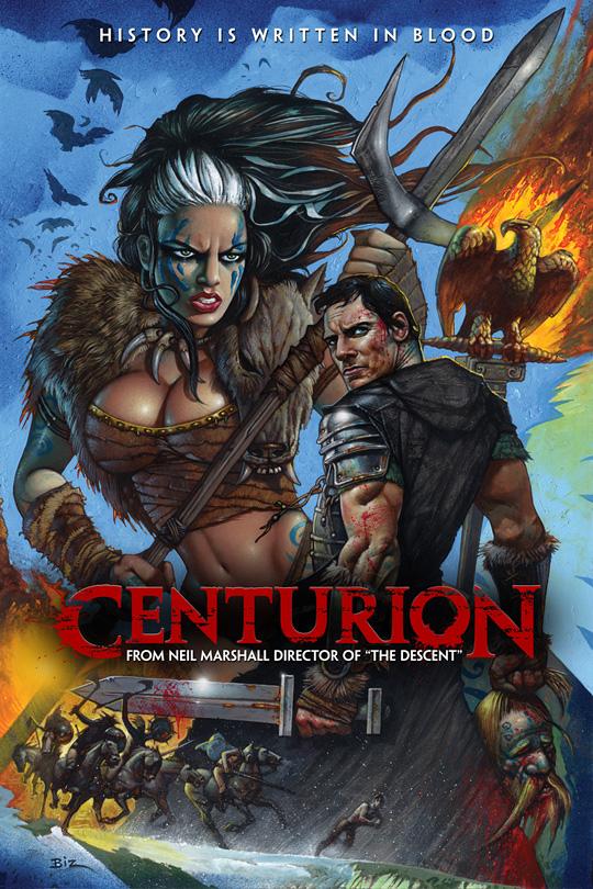 Simon Bisley's Centurion Poster