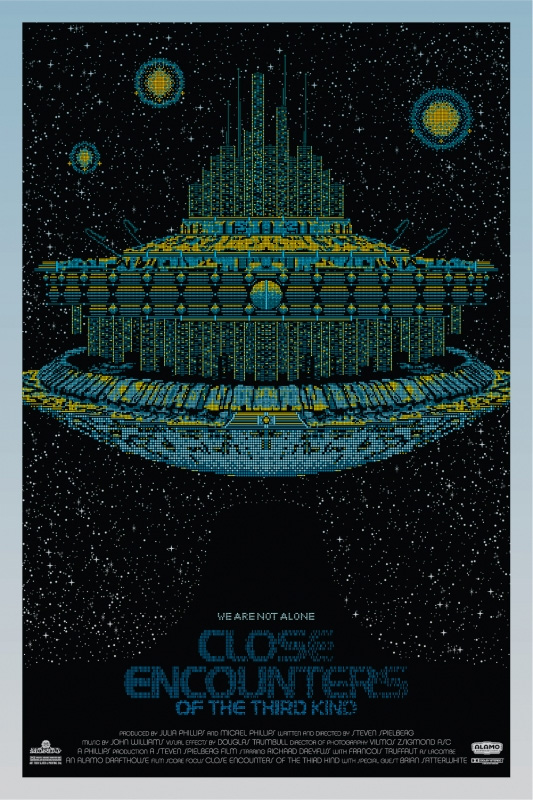 Close Encounters of the Third Kind - Blue