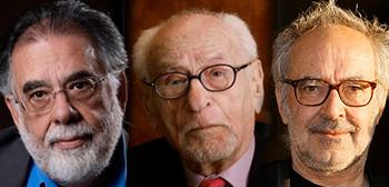 Francis Ford Coppola, Eli Wallach, Jean-Luc Goddard