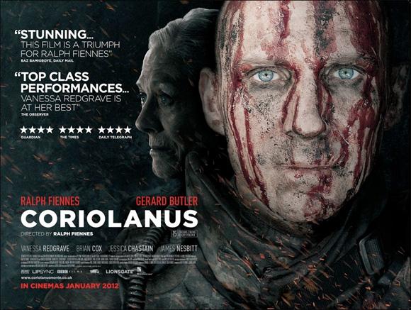 Coriolanus - UK Poster
