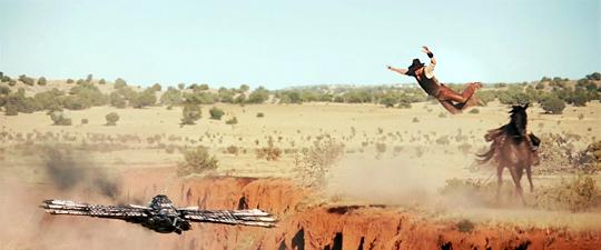 Jon Favreau's Cowboys & Aliens Photo
