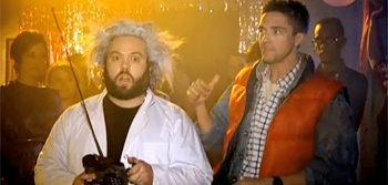 Dan Fogler and Toper Grace