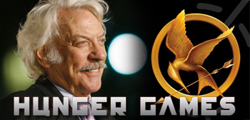 Donald Sutherland / Hunger Games