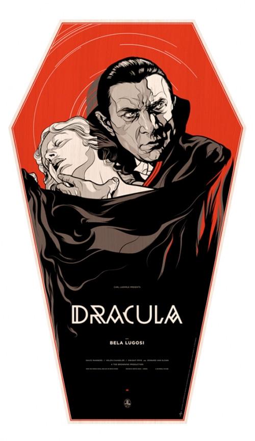 Dracula - Mondo Coffin Poster