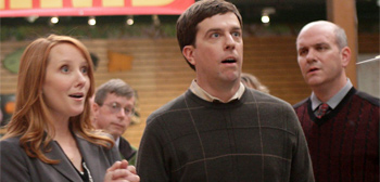 Ed Helms in Cedar Rapids